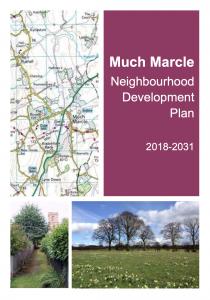 Neighbourhood Development Plan pdf cover