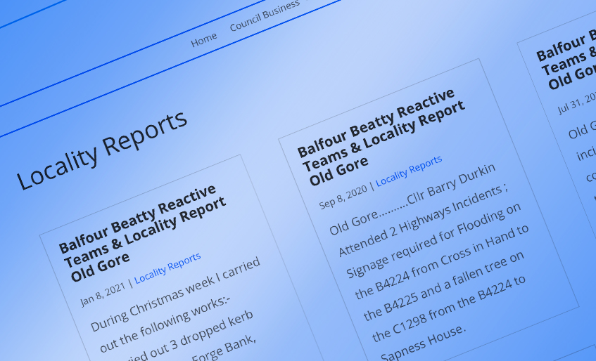 Locality Reports