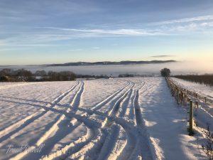 Malverns in the snow